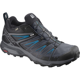 Salomon X Ultra 3 GTX Calzado Hombre, Black/India Ink/Hawaiian Surf